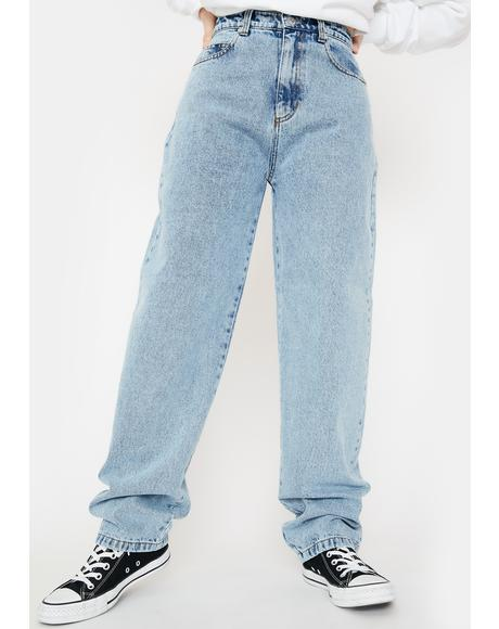 Light Blue Angelic Dad Jeans