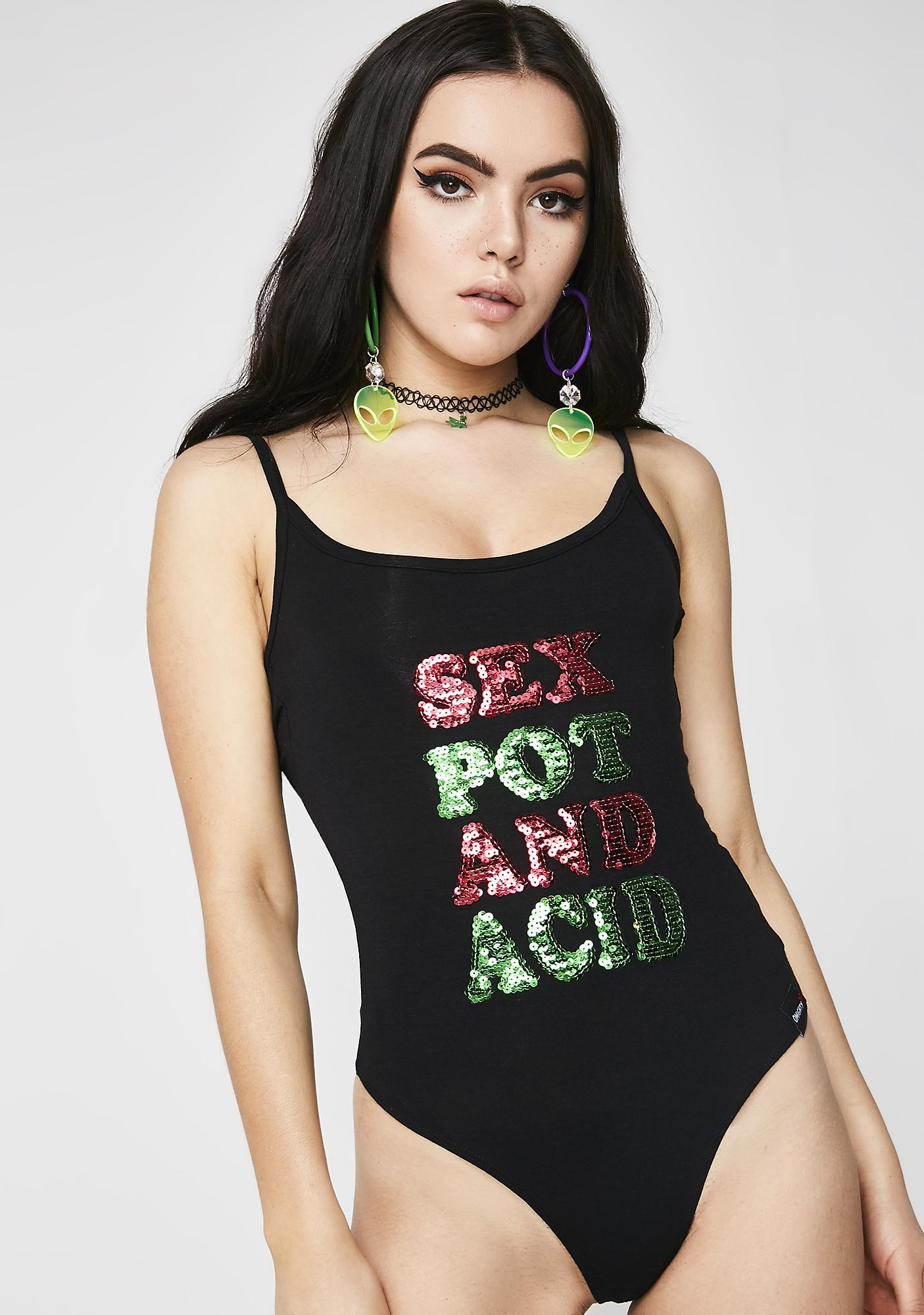 O Mighty Sex Pot Acid Bodysuit