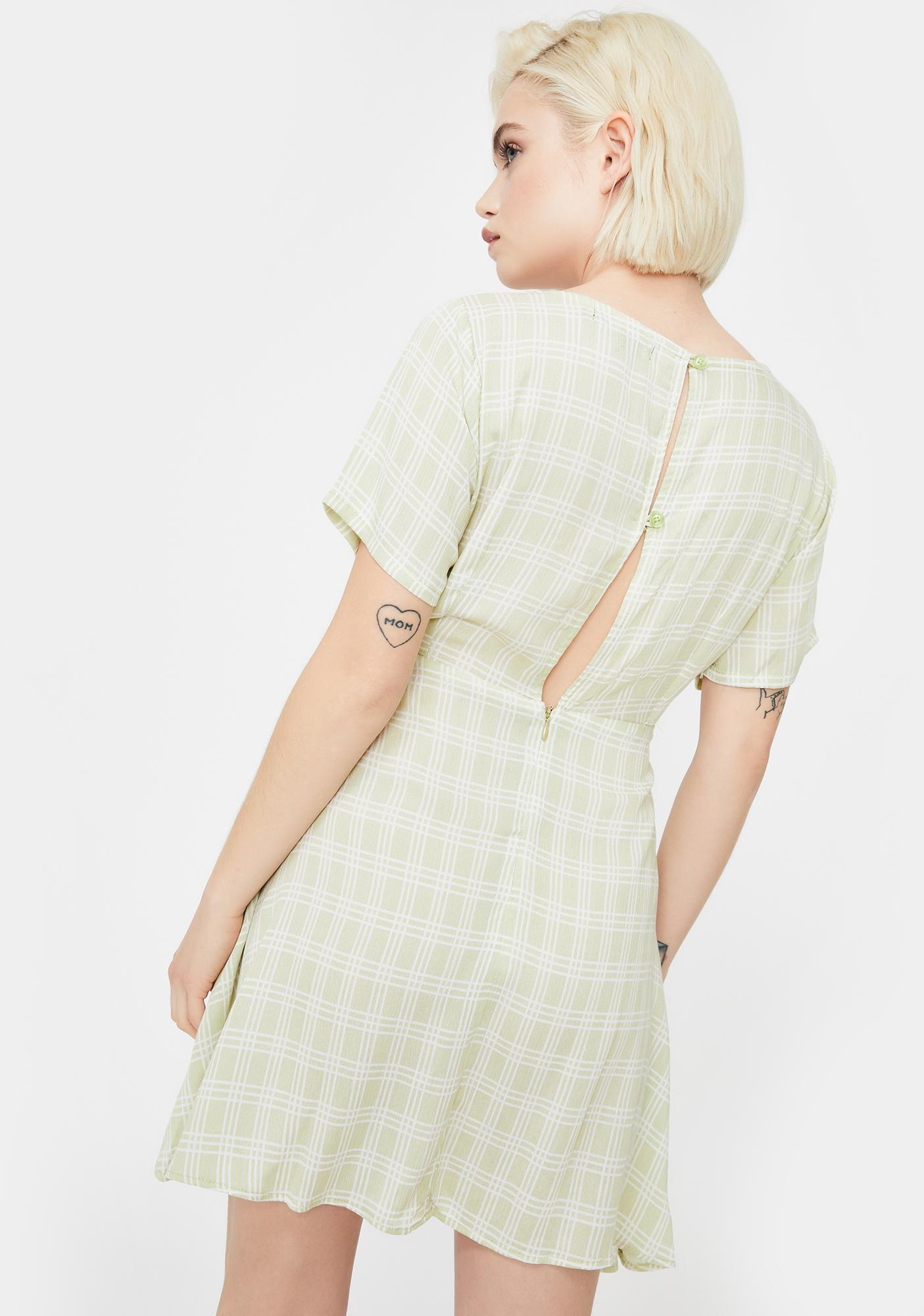 Motel Sage Peky Mini Dress
