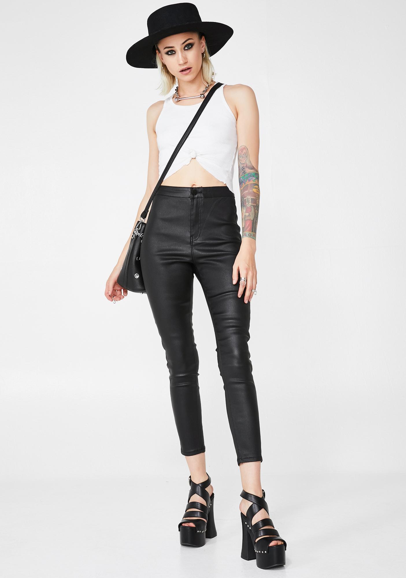 Momokrom Matte Skinny Jeans