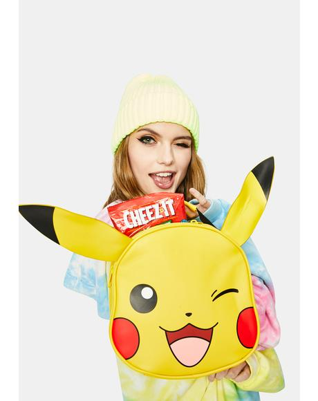 Catch 'Em All Pikachu Lunch Box
