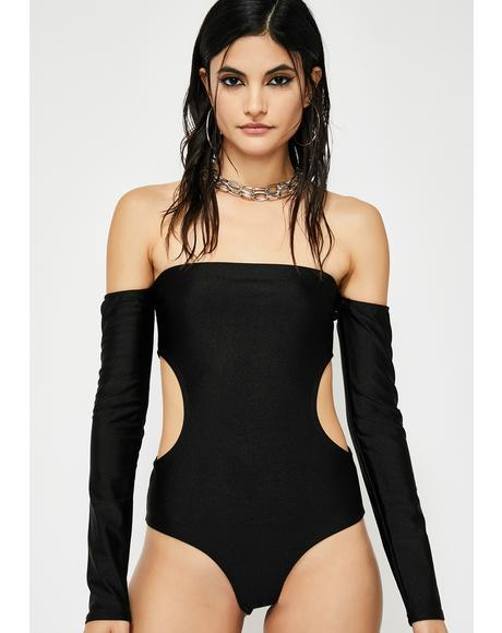 Just A Stranger Cut Out Bodysuit