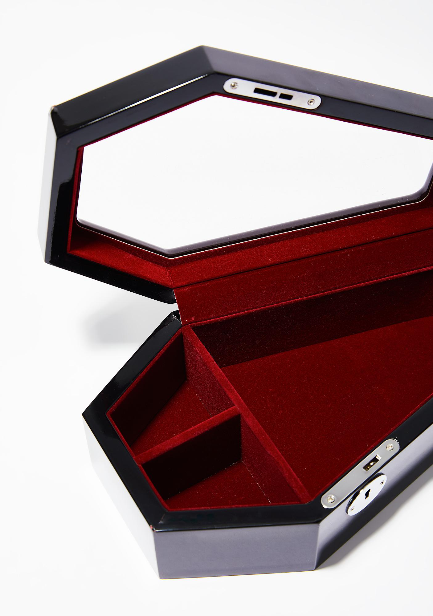 Killstar Casket Case Jewelry Box