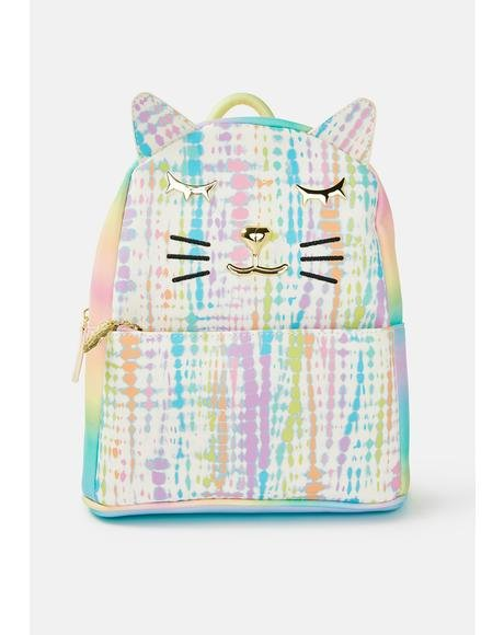Kitsch Tie Dye Full Size Backpack