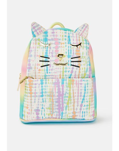 Kitsch Tie Dye Full Size Backpack