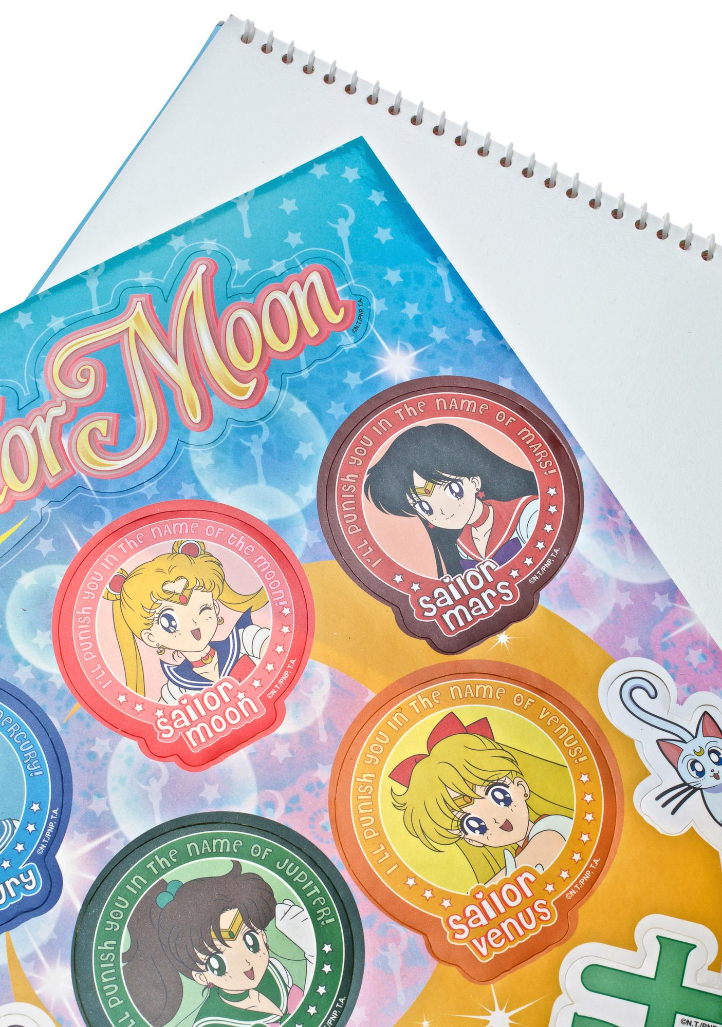 Sailor Senshi Sticker Pack