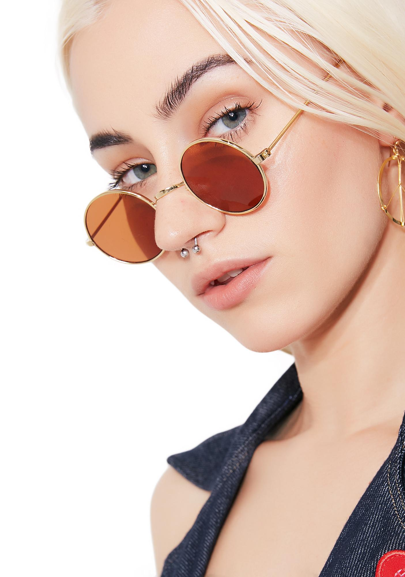 Peacemaker Round Sunnies