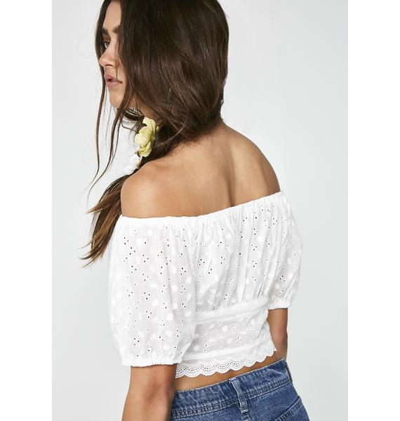 Flower Fields Crop Top