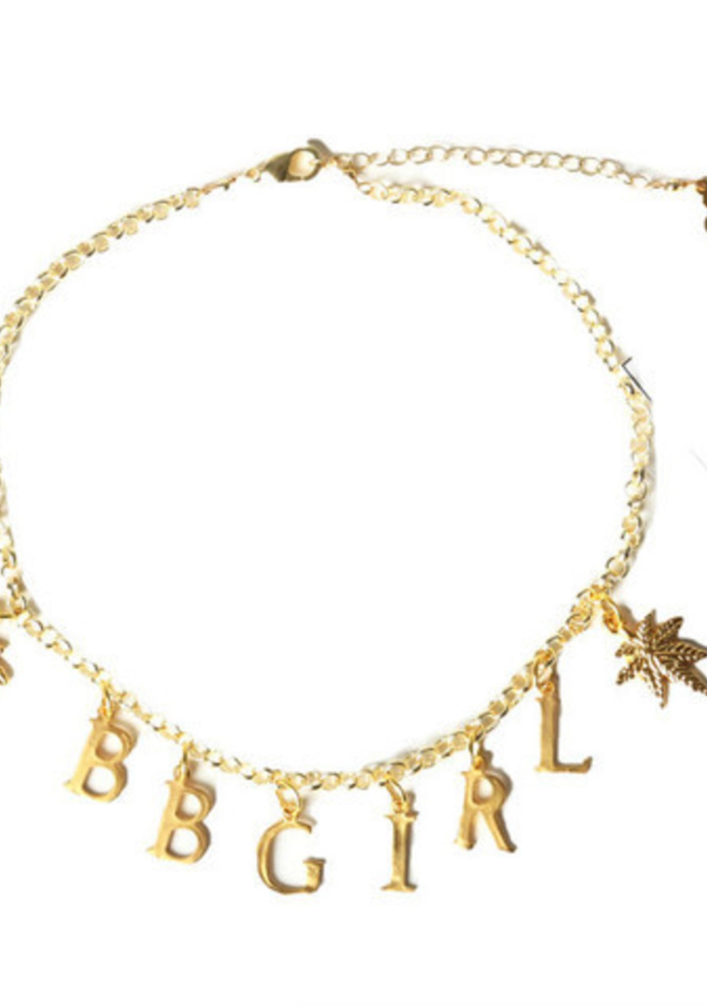United Couture x VidaKush BB Girl Charm Choker