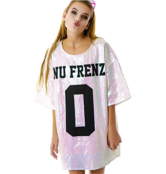 UNIF No Nu Frenz Sequins Top