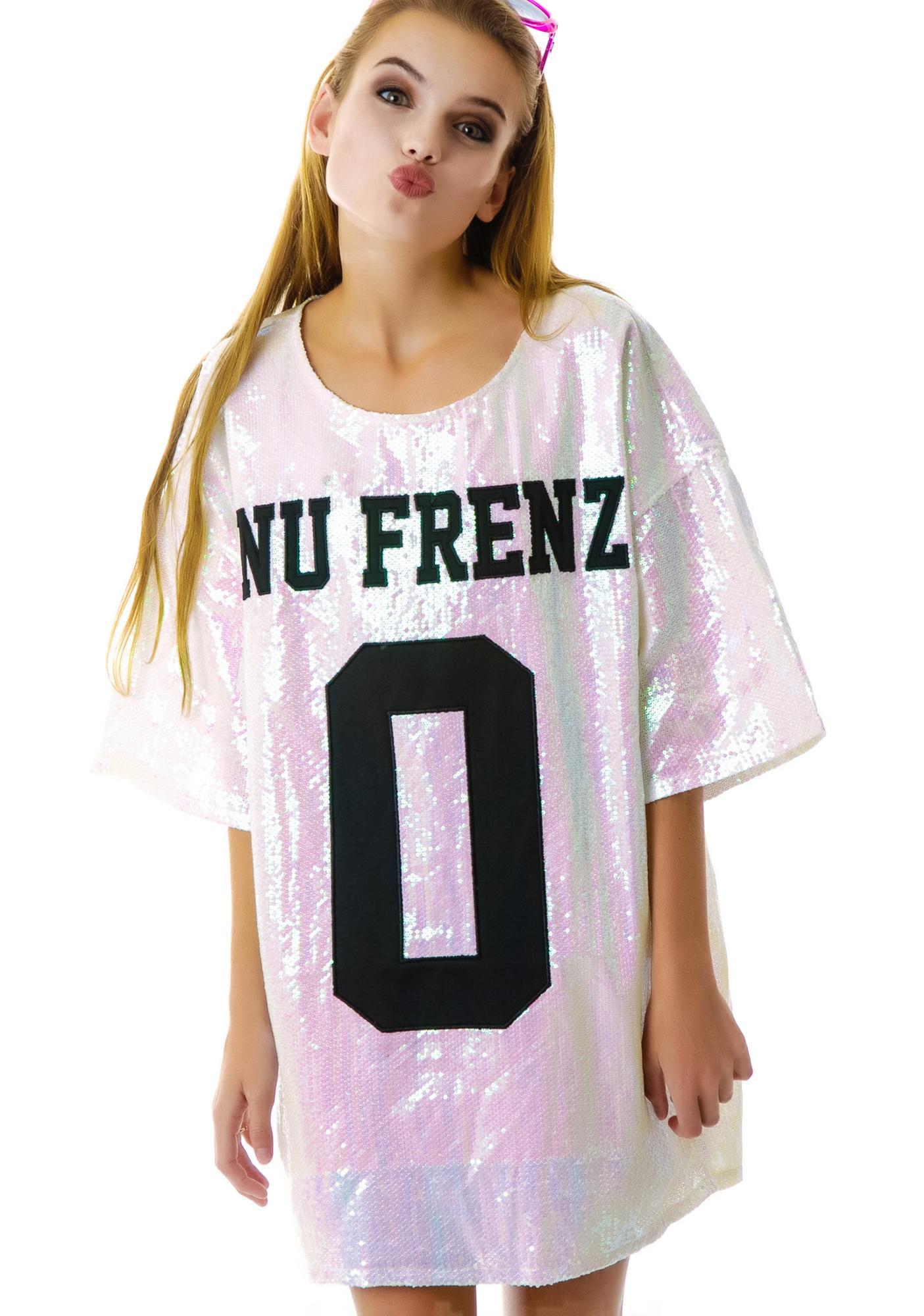 UNIF No Nu Frenz Sequins Top
