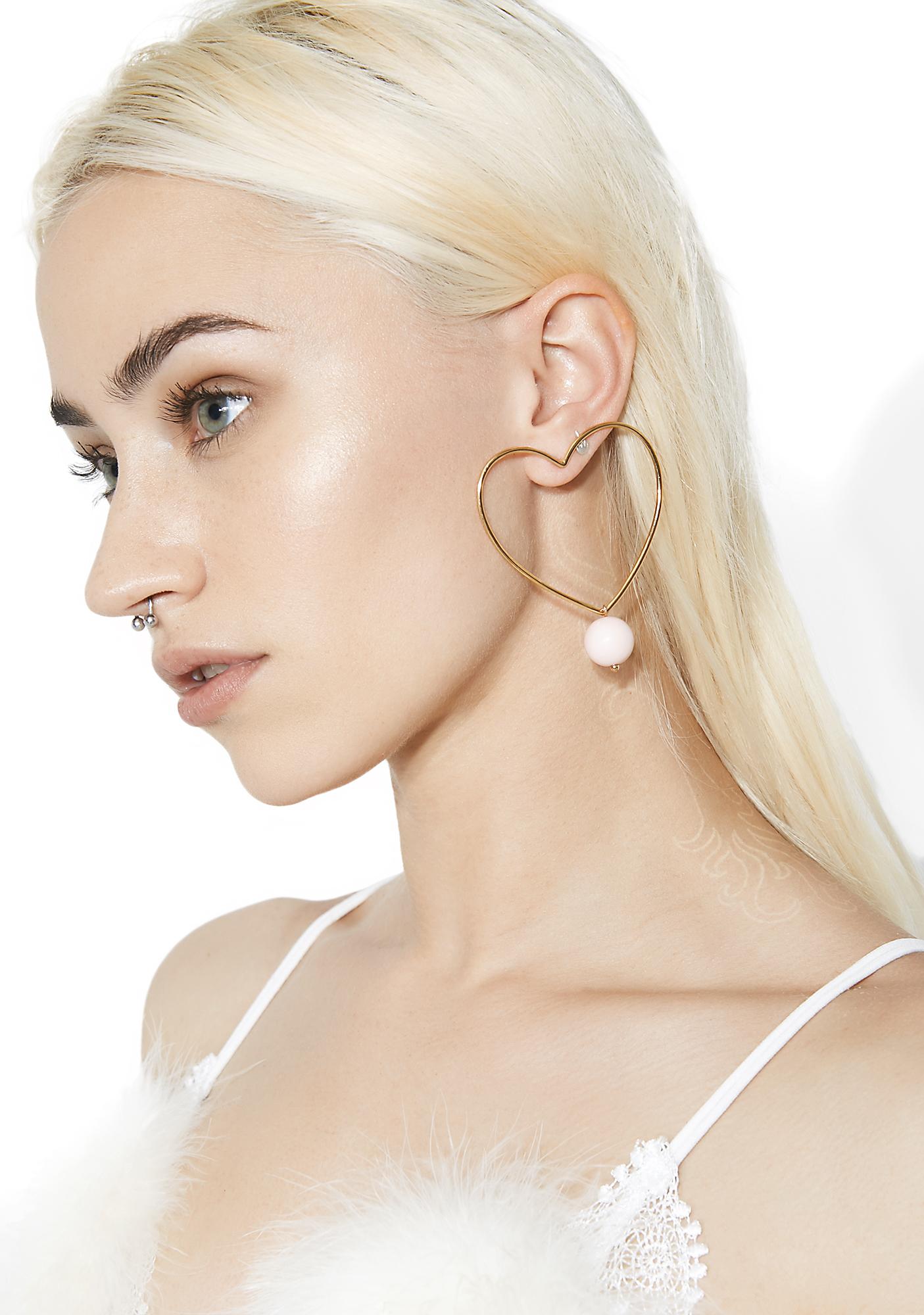 Sweet Luvin� Heart Earrings