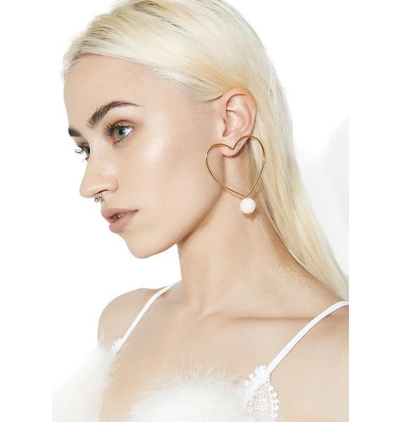 Sweet Luvin' Heart Earrings