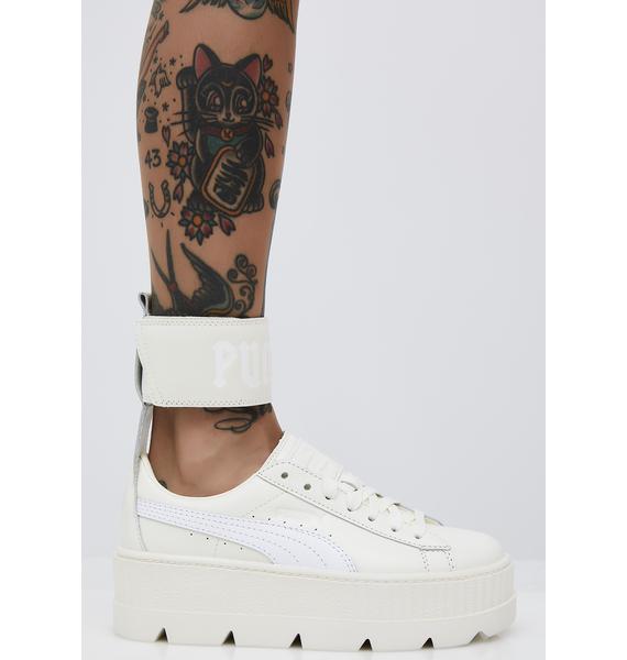 PUMA Vanilla FENTY PUMA by Rihanna Ankle Strap Sneaker