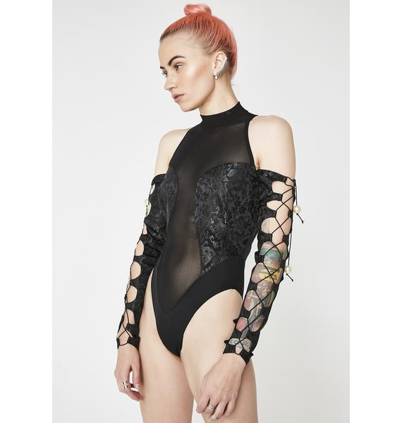 Namilia Dragon Brocade Bodysuit