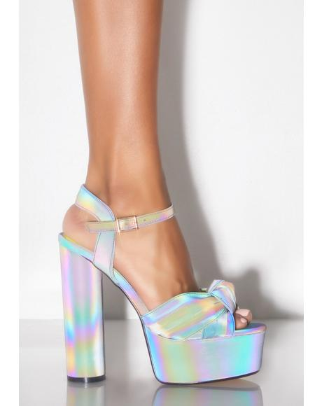 Try Me Reflective Heels