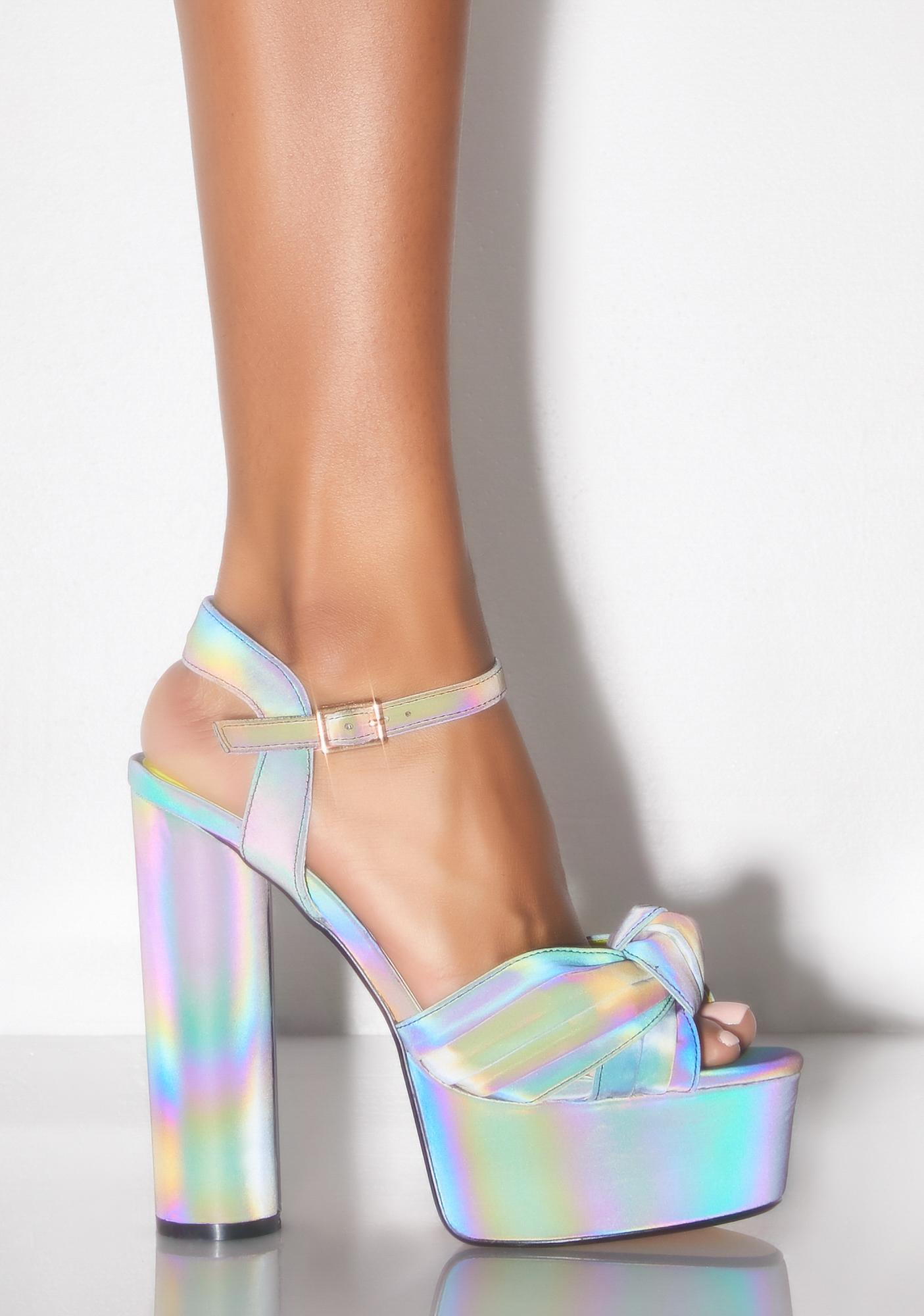 Try Me Reflective Heels by