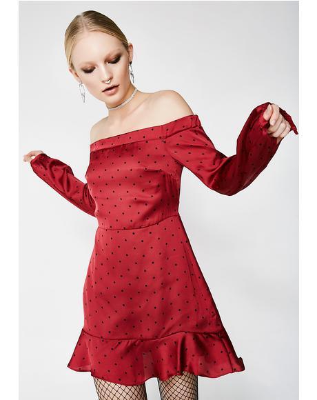 Aphrodite Off-Shoulder Dress