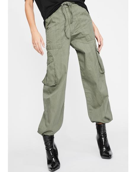 Surplus Green Cargo Pants