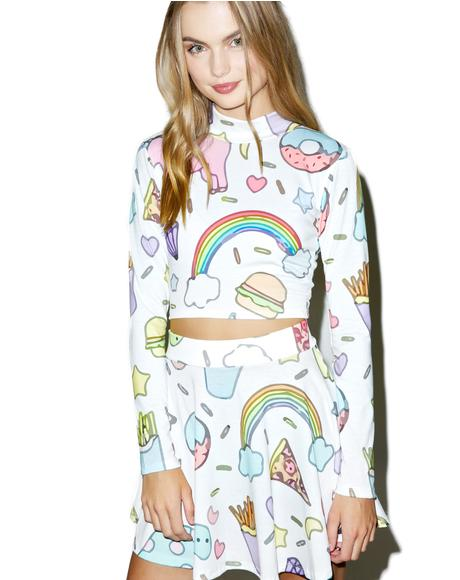 Land of Magic Unicorn Skirt Set