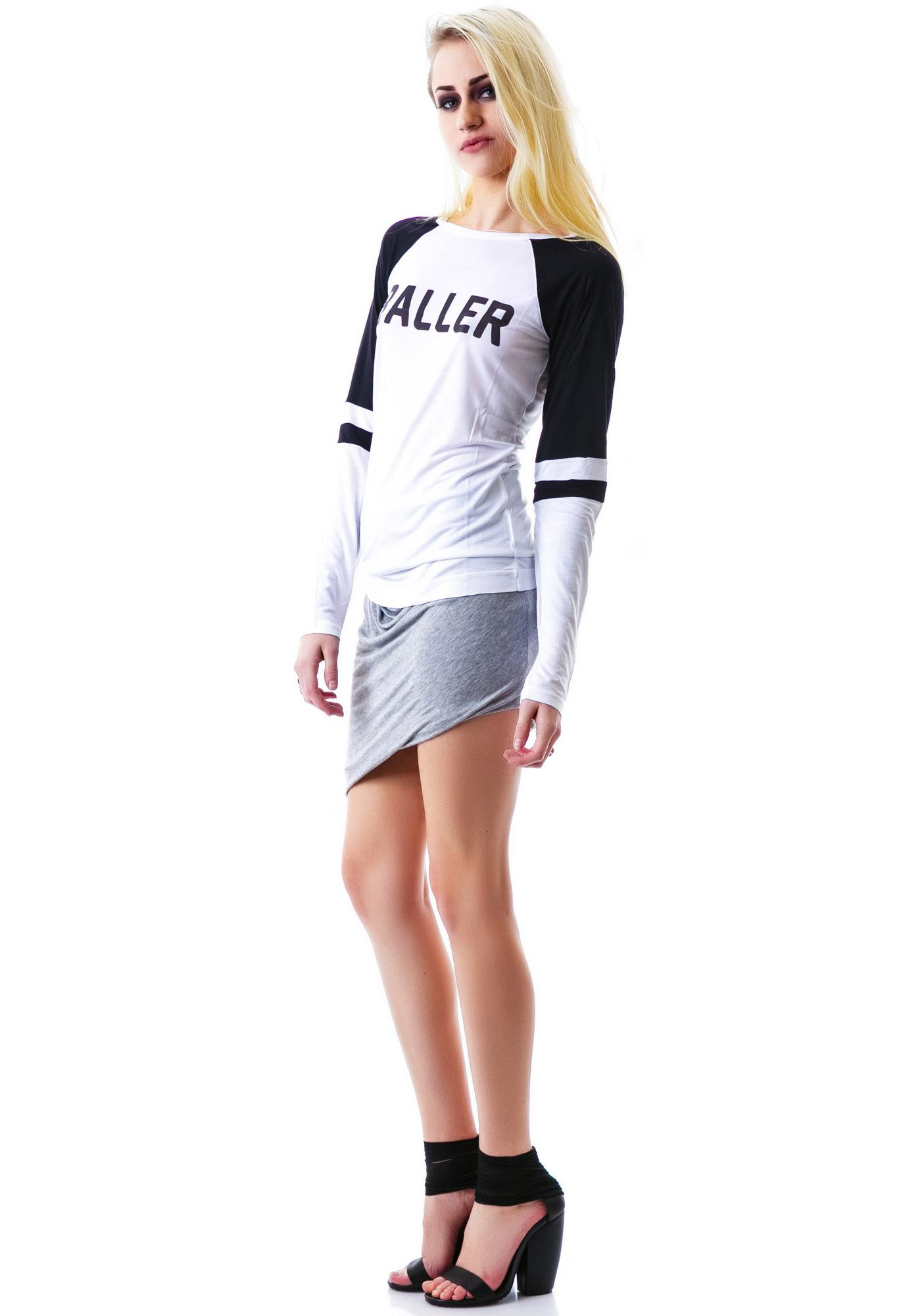 Stylestalker Baller Long Sleeved Raglan