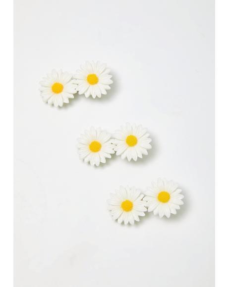Whoopsie Daisy Hair Clip Set