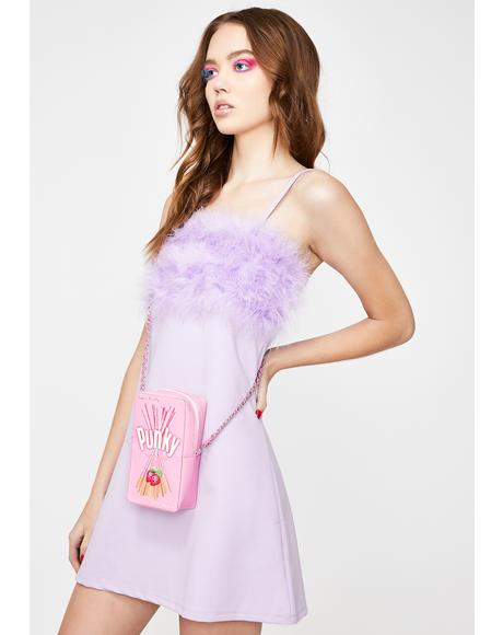 Fairy Flirty N' Thriving Marabou Dress
