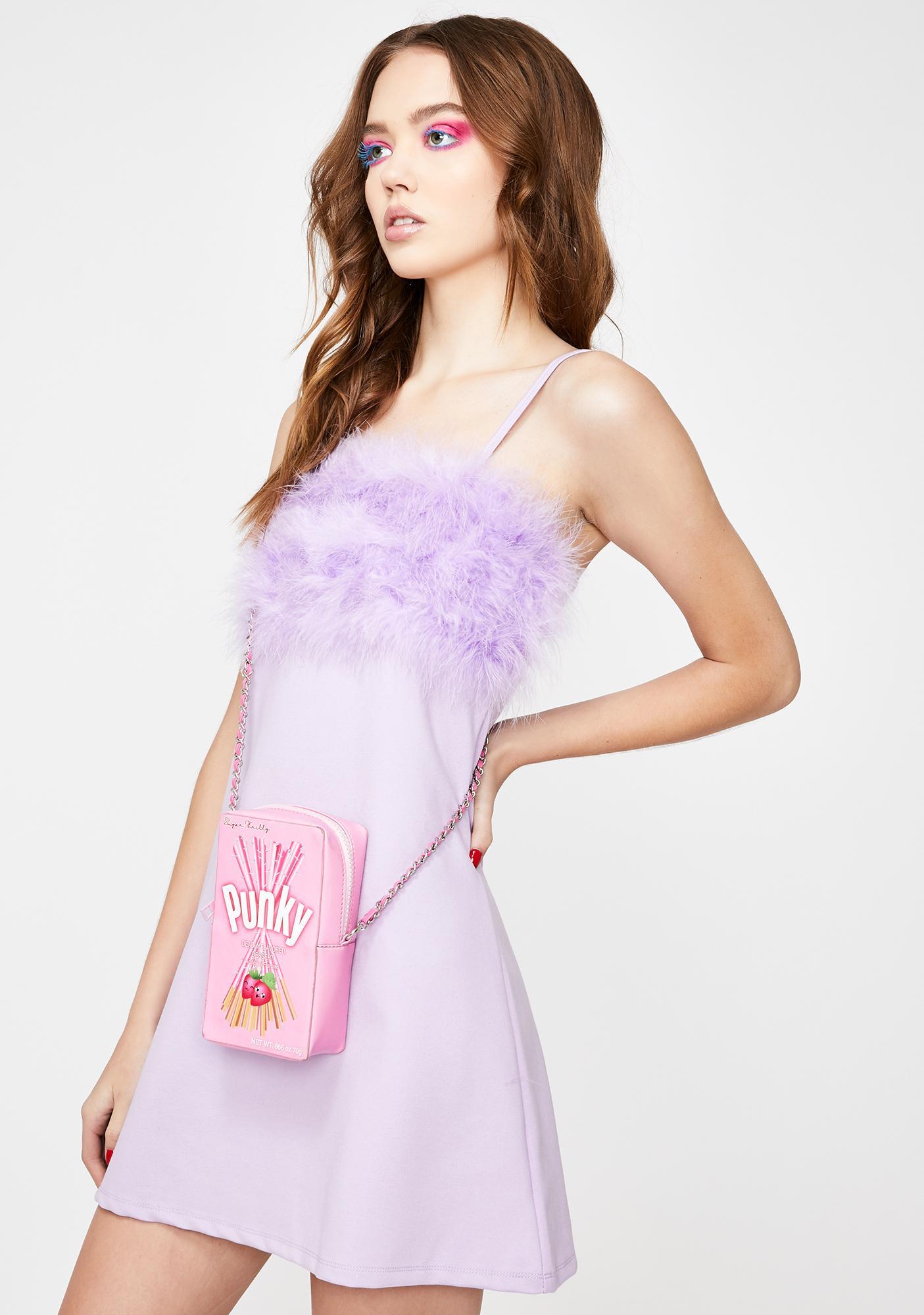 Sugar Thrillz Fairy Flirty N' Thriving Marabou Dress