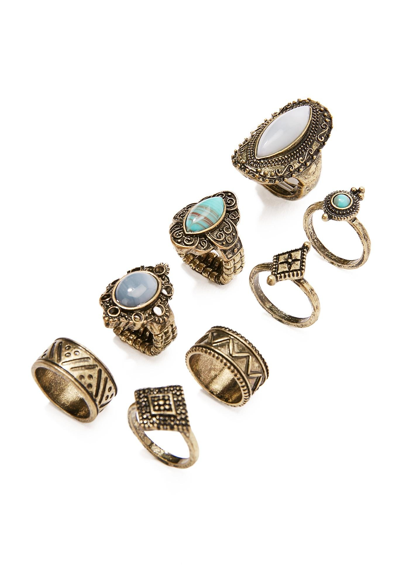 Madame Fortuna Ring Set