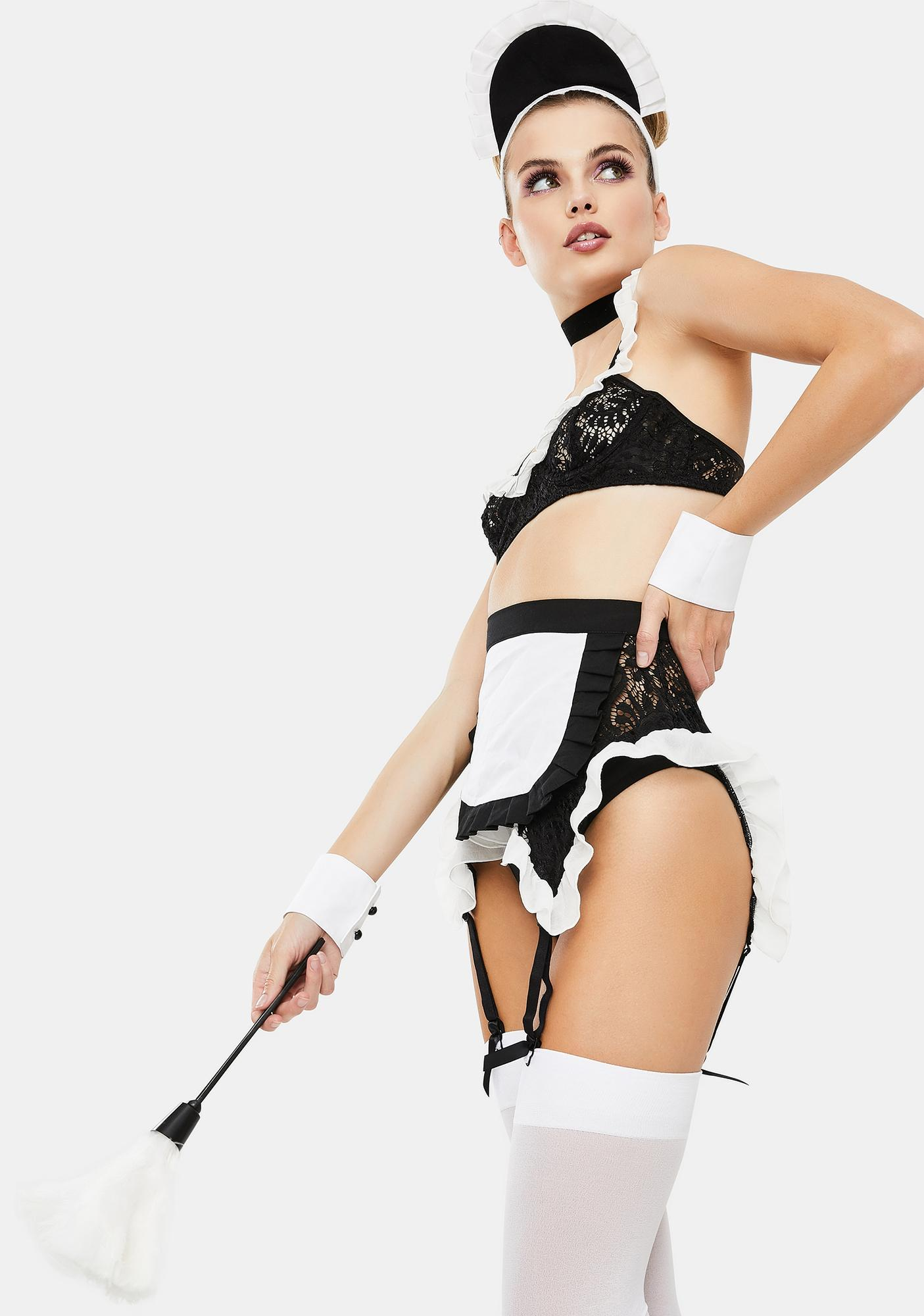 Dolls Kill Maid You Look French Maid Costume