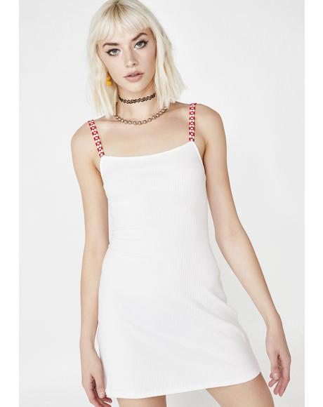 Serenity Bloom Ribbed Dress