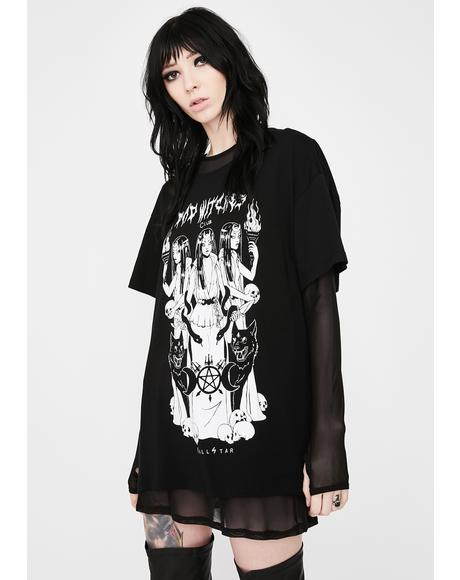 Bad Witches Club Relaxed Top