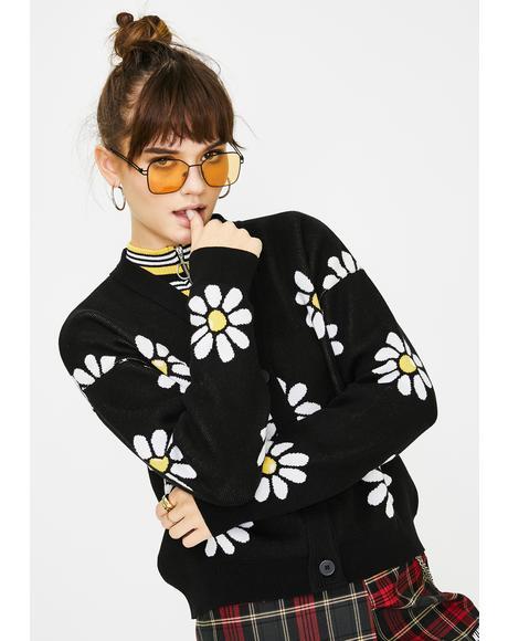 Miss Daisy Knit Cardigan