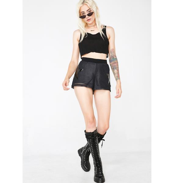 Tripp NYC Star Mesh Shorts