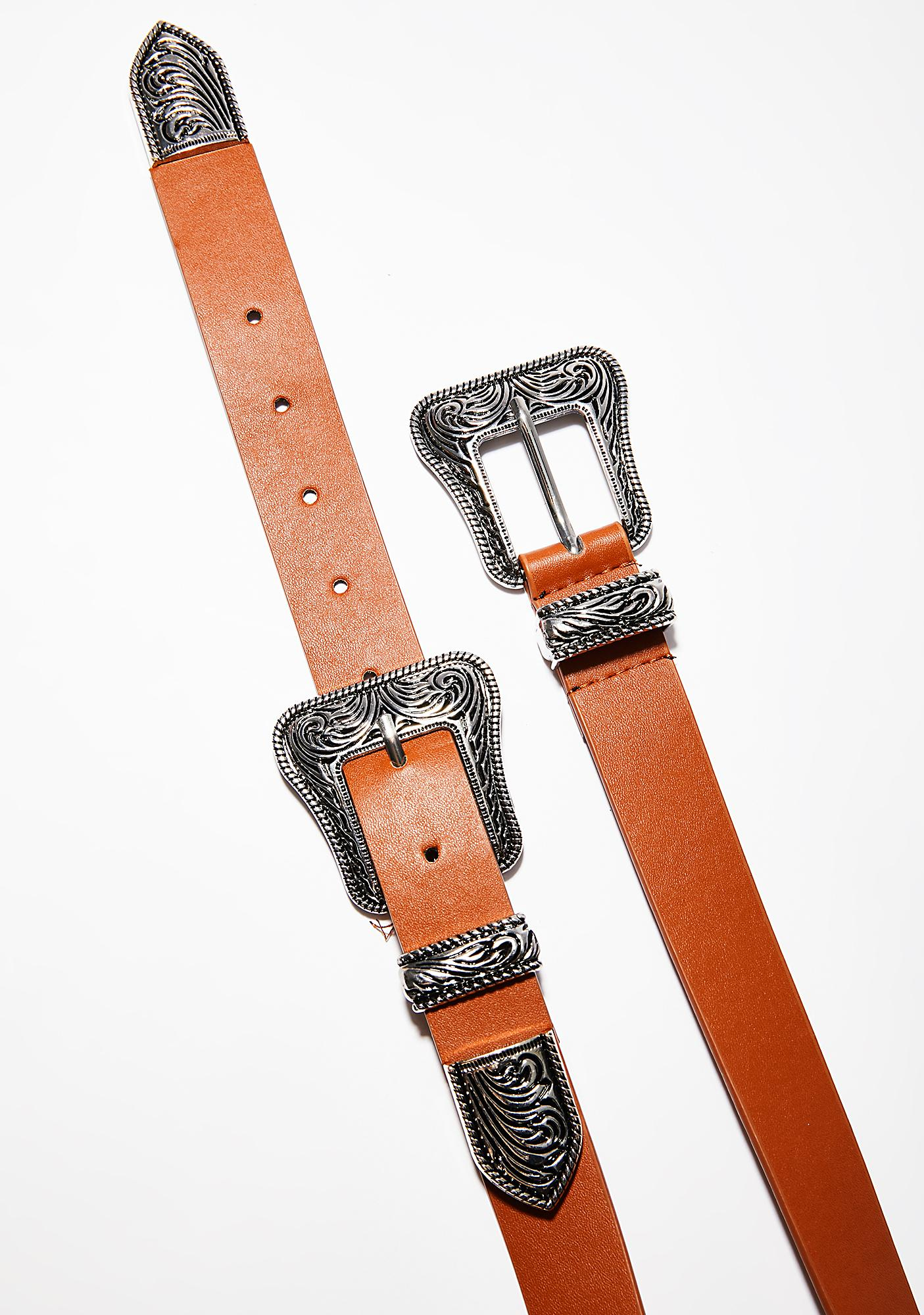 Double Trouble Buckle Belt