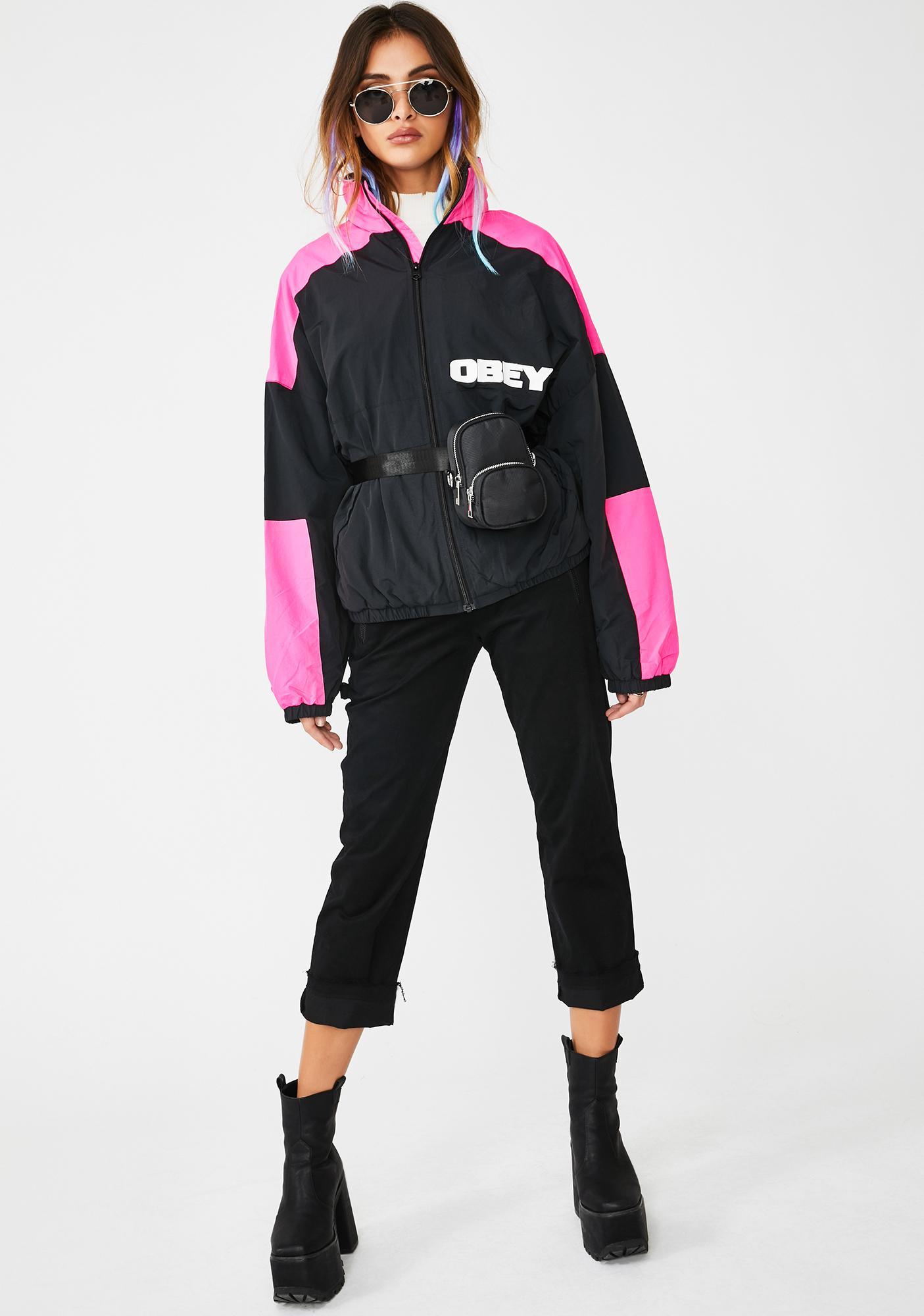 Obey Bruges Oversized Jacket