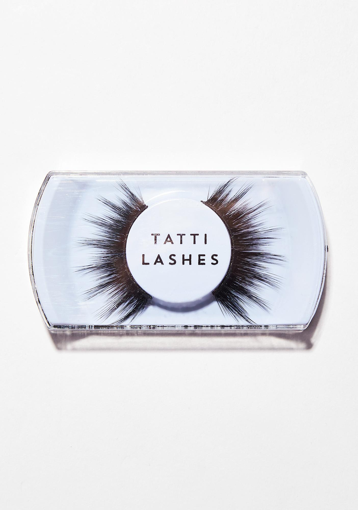 Tatti Lashes 3D Brazilian Silk Hair TL25