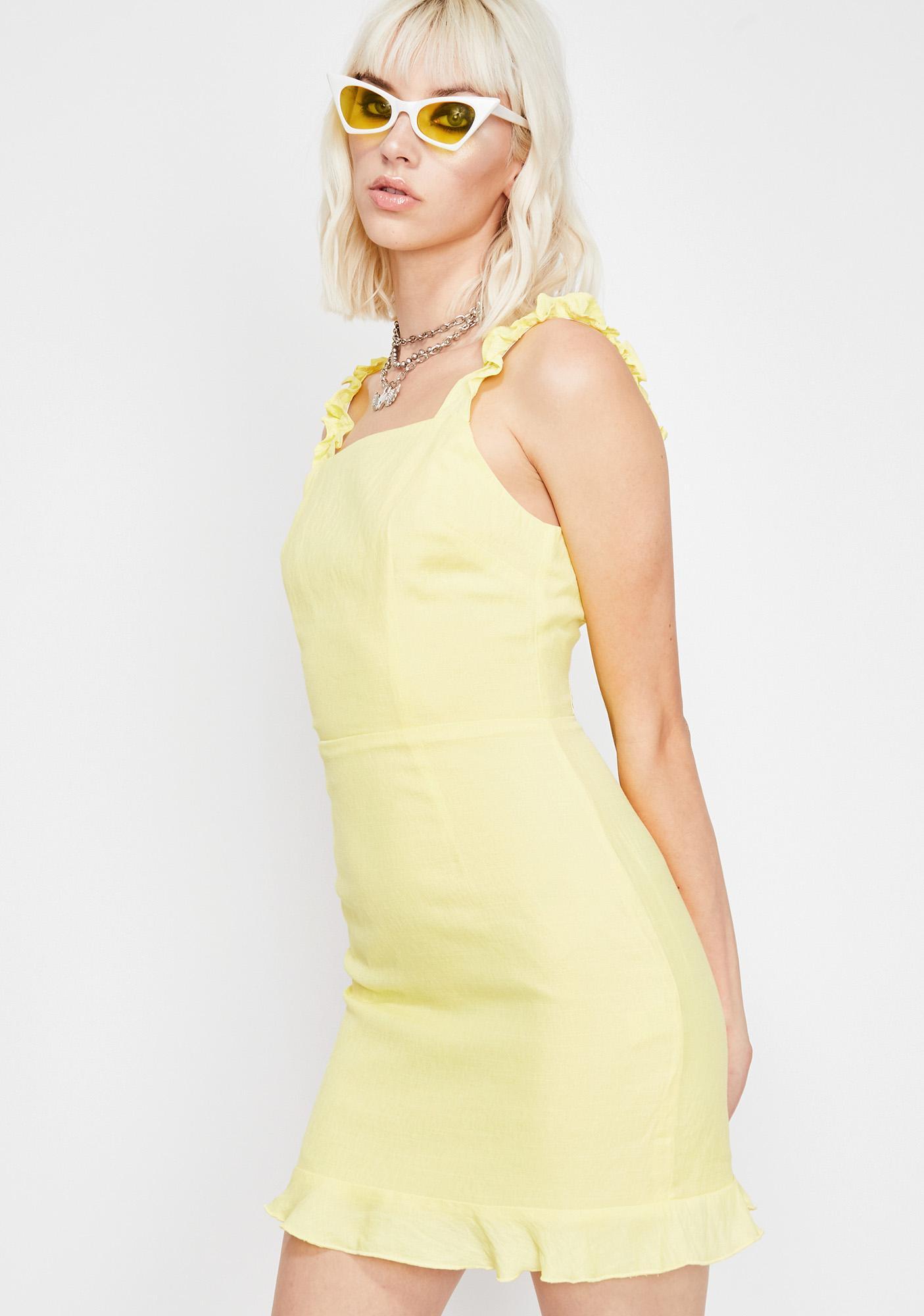 Dream Gurl Ruffle Dress