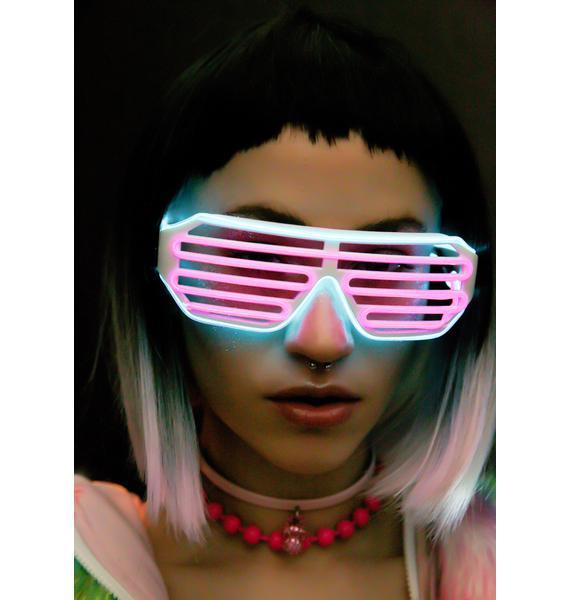 GloFx White Luminescence Shutter Frames