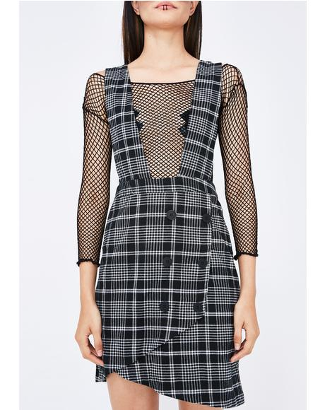 Xtra Credit Plaid Dress
