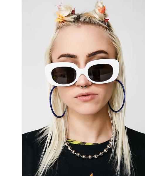Crap Eyewear Ice The Velvet Mirror Sunglasses