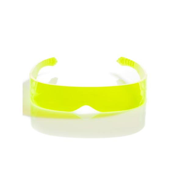 Cyberdog Fluoro Screw Visor