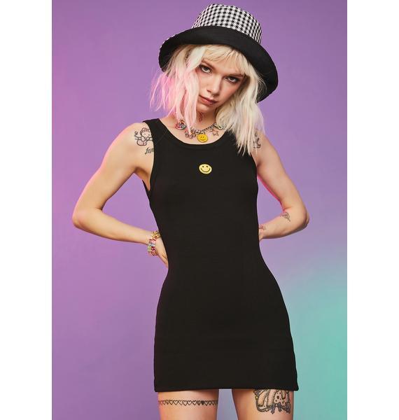 Stay Cheesin' Tank Mini Dress