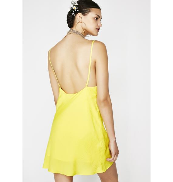 Burnin Daylight Slip Dress