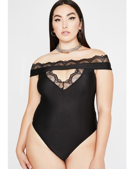 Bae Haunt Your Ex Cut Out Bodysuit