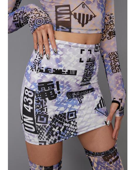 QR Cutie Mini Skirt