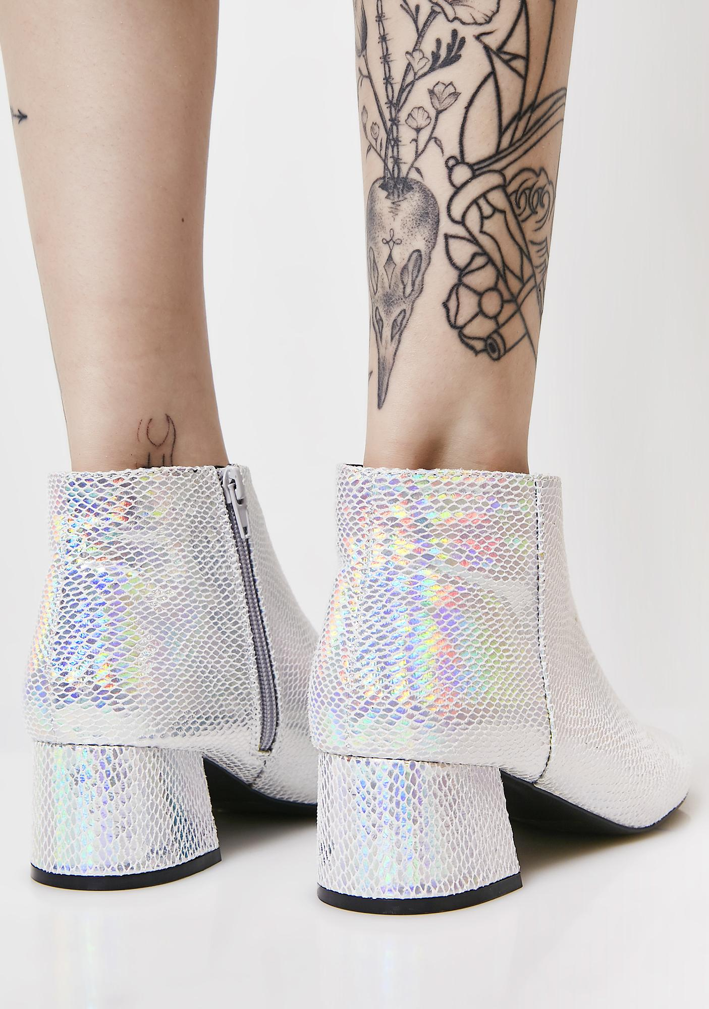 Make It Personal Hologram Booties