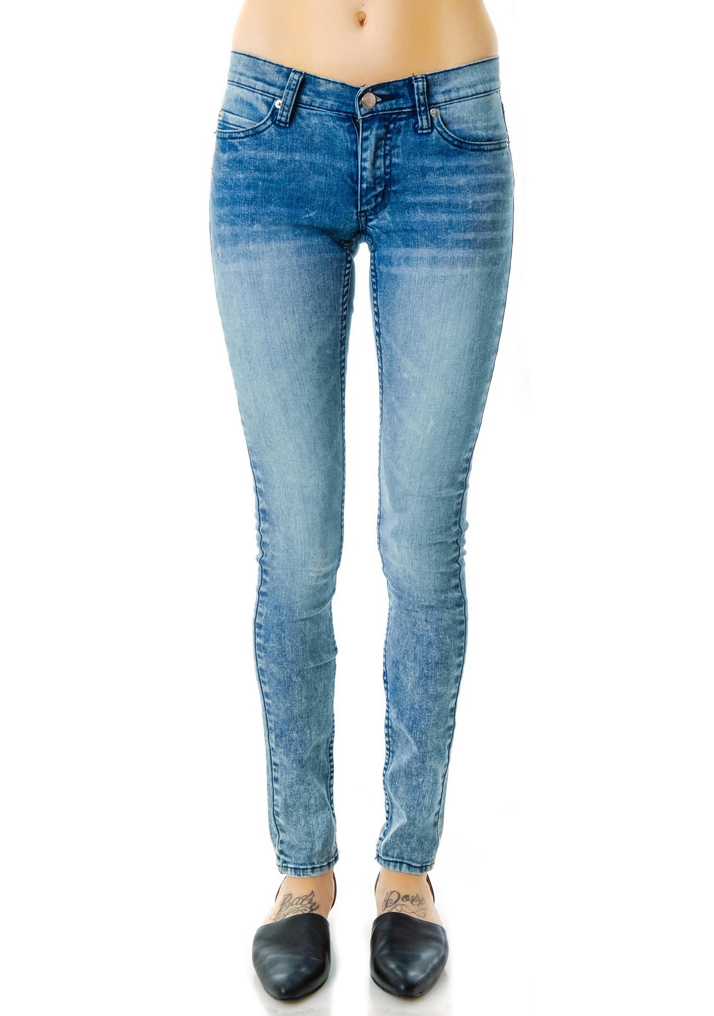 Cheap Monday Advanced Blue Slim Jeans