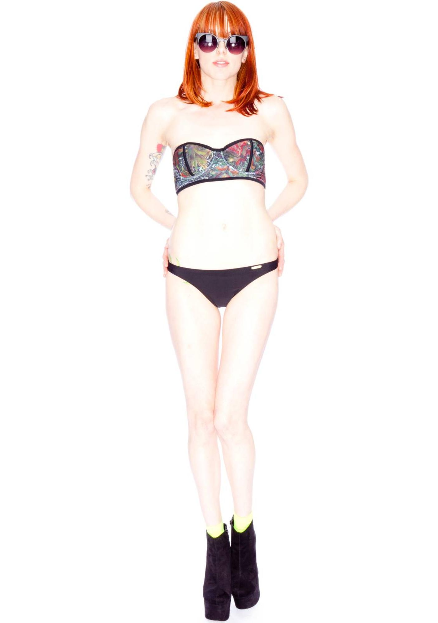 Insight Tail Feather Bustier Bikini