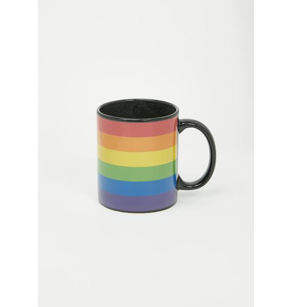 Seeing Rainbows Color Changing Coffee Mug